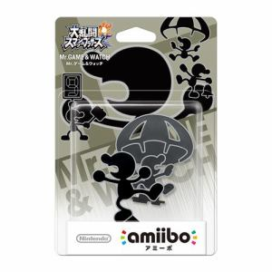 任天堂 amiibo Mr.ゲーム&ウォッチ(大乱闘スマッシュブラザーズシリーズ) NVL-C-AABX