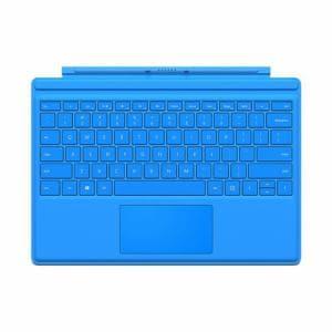 マイクロソフト QC700071 Microsoft Surface Pro 4 タイプ カバー シアン