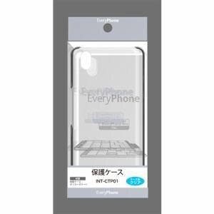 フロンティア(FRONTIER) INT-CTP01 EveryPhone専用保護ケース クリア