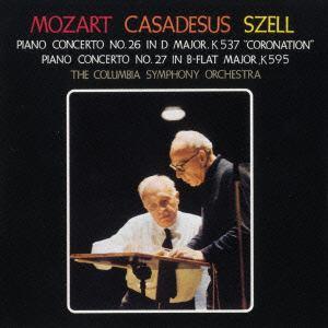 <CD> カザドシュ / モーツァルト:ピアノ協奏曲第26番「戴冠式」&第27番