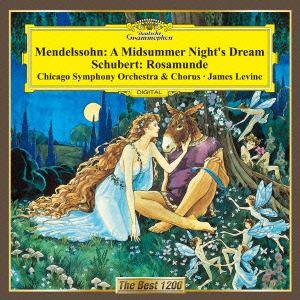 <CD> レヴァイン / メンデルスゾーン:「真夏の夜の夢」抜粋/シューベルト:「ロザムンデ」抜粋