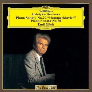 <CD> ギレリス / ベートーヴェン:ピアノ・ソナタ第29番&第30番