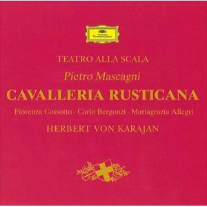 <CD> カラヤン / マスカーニ:歌劇「カヴァレリア・ルスティカーナ」