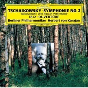 <CD> カラヤン / チャイコフスキー:交響曲第2番「小ロシア」、大序曲「1812年」