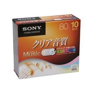 SONY CD-R オーディオ 10CRM80HPXS