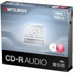 三菱ケミカルメディア MUR80FP5D1 音楽用CD-R