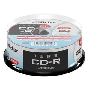 Victor(ビクター) AR80FP20SJ2 音楽用 CD-R  プリンタ対応 20枚 スピンドル