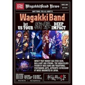 <BLU-R> WagakkiBand 1st US Tour 衝撃 -DEEP IMPACT-