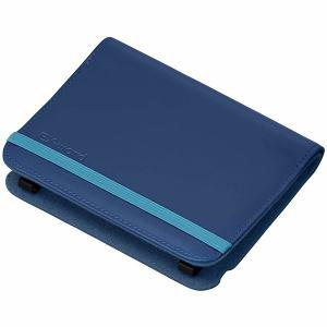 カシオ 電子辞書用 ブックカバータイプケース ダークブルー XD-CC2305DB