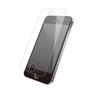 エレコム PM-A16SFLGG03 iPhoneSE/5s/5c/5用液晶保護ガラス/0.33mm
