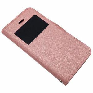 エアージェイ AC-5SE-VC-PK iPhone SE/5s/5用 手帳型ビューウィンドウ付き スリムケース ピンク