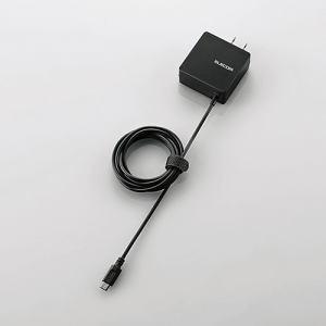 エレコム MPA-ACMBC154BK AC充電器 ブラック