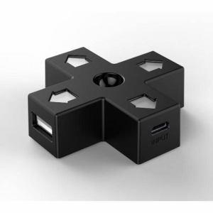 サイバーガジェット 8BITDO DPAD USB HUB CY-8BUSHUB-BK