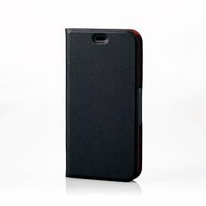 エレコム PS-DIGFPLFUMBK Digno F / E用ソフトレザーケース/薄型/磁石付 ブラック