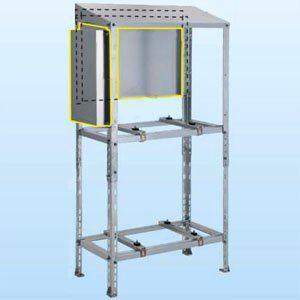 日晴金属 CE-RZJ-BP クーラーキャッチャー C-RZJ・C-RZG用防雪パネル ZAM鋼板製