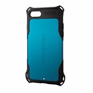 エレコム PM-A16MZEROBU iPhone 7用 ZEROSHOCK/スタンダード