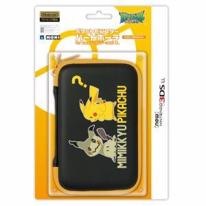 ホリ ポケットモンスターハードポーチ for Newニンテンドー3DS LL ピカチュウ&ミミッキュ 3DS-502