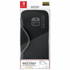 キーズファクトリー QUICK POUCH for Nintendo Switch ブラック  NQP-001-1