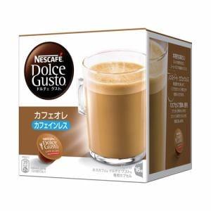 ネスレ CLL16001 ドルチェグスト専用カプセル 「カフェオレ カフェインレス」 (16杯分)