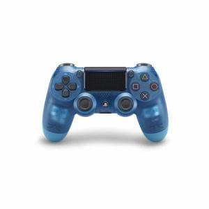 ソニー ワイヤレスコントローラー(DUALSHOCK4) ブルー・クリスタル CUH-ZCT2J19