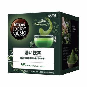 ネスレ KIM16001 ネスカフェ ドルチェグスト専用カプセル 濃い抹茶 12杯分