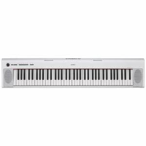 ヤマハ NP-32WH 電子キーボード 「piaggero(ピアジェーロ)」 76鍵盤 ホワイト