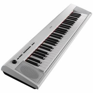 ヤマハ NP-12WH 電子キーボード 「piaggero(ピアジェーロ)」 61鍵盤 ホワイト