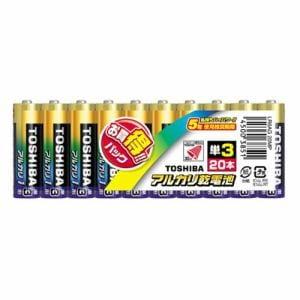 東芝 【単3形】 20本 アルカリ乾電池 「アルカリ1」 LR6AG 20MP