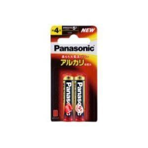 <ヤマダ> パナソニック アルカリ乾電池単4形2本パック LR03XJ/2B画像