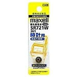 マクセル SR721W-1BT-A 時計用 酸化銀電池 1.55V