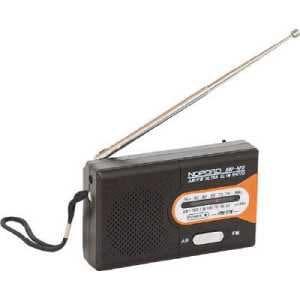 ナカバヤシ Digio2水電池付 AM/FMラジオ NOPOPO NWP-NFR-D