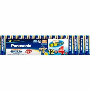 Panasonic アルカリ電池 LR6EJSP/16S