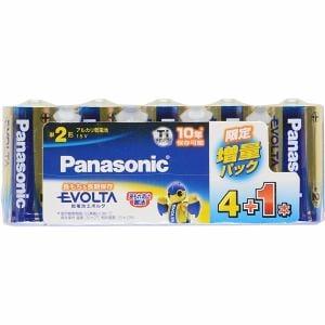 パナソニック エボルタ電池 単2形 4+1本 LR14EJSP/5S