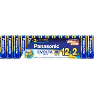 パナソニック アルカリ乾電池 「エボルタ」 単3形 14本パック LR6EJSP14S