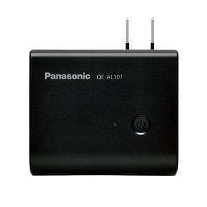パナソニック モバイルバッテリー搭載 AC急速充電器 ブラック QE-AL101-K