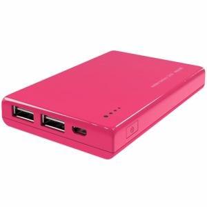 マクセル MPC-CW5200PK モバイル充電バッテリー ピンク