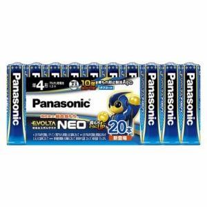 パナソニック LR03NJ/20SW 単4形乾電池 「エボルタネオ」 20本パック