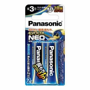 パナソニック LR6NJ/2B 単3形乾電池 「エボルタネオ」 2本パック