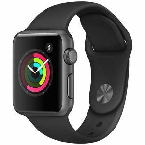 アップル(Apple) MP022J/A Apple Watch Series 1 38mm スペースグレイアルミニウムケースとブラックスポーツバンド