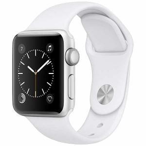 アップル(Apple) MNRQ2J/A Apple Watch Series 2 38mm シルバーアルミニウムケースとホワイトスポーツバンド