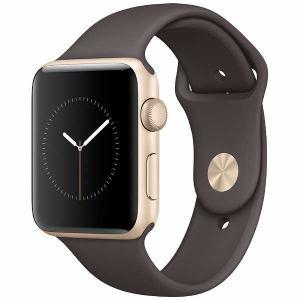 アップル(Apple) MNT72J/A Apple Watch Series 2 42mm ゴールドアルミニウムケースとココアスポーツバンド