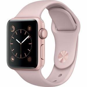 アップル(Apple) MNRT2J/A Apple Watch Series 2 38mmローズゴールドアルミニウムケースとピンクサンドスポーツバンド