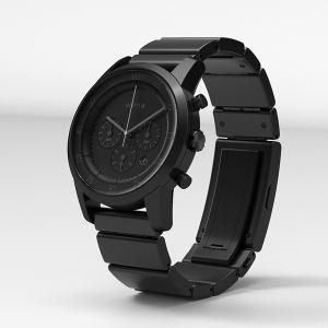 ソニー WN-WC01B ウェラブル端末 「wena wrist(ウェナ リスト) Chronograph(クロノグラフ)」ブラック