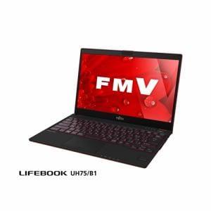 【クリックで詳細表示】富士通 FMVU75B1R ノートパソコン FMV LIFEBOOK UH75/B1