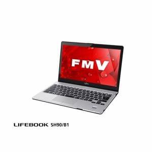 【クリックで詳細表示】富士通 FMVS90B1B ノートパソコン FMV LIFEBOOK SH90/B1