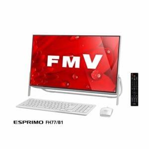 富士通 FMVF77B1W デスクトップパソコン FMV ESPRIMO FH77/B1