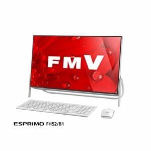 富士通 FMVF52B1W デスクトップパソコン FMV ESPRIMO FH52B1