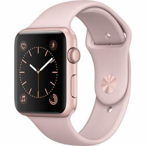 アップル(Apple) MQ112J/A Apple Watch Series 1 42mm ローズゴールドアルミニウムケースとピンクサンドスポーツバンド
