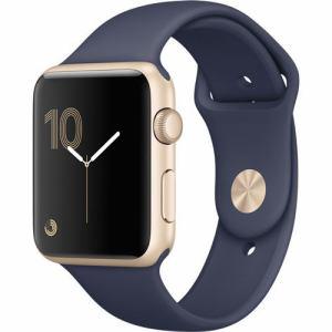 アップル(Apple) MQ1G2J/A Apple Watch Series 2 38mm ゴールドアルミニウムケースとミッドナイトブルースポーツバンド