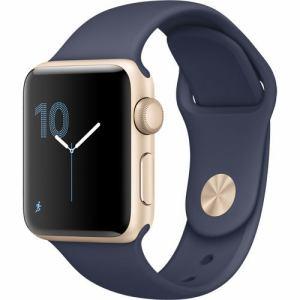 アップル(Apple) MQ1J2J/A Apple Watch Series 2 42mm ゴールドアルミニウムケースとミッドナイトブルースポーツバンド